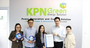 KPN Green Certified to ISO 9001:2015 Standard