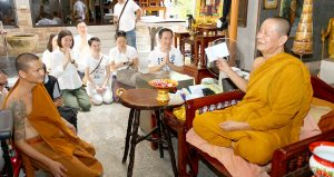 KPN Green Joins Donating Solar Batteries to a Temple