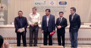 KPN Green and L.D.S. Metal Work Co., Ltd. Sign the HSPP Ash and Gypsum Handling System Contract