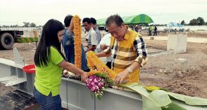 Groundbreaking Ceremony Held for the Construction Project of a 9.9 MW Kamphaeng Phet Biopower Plant