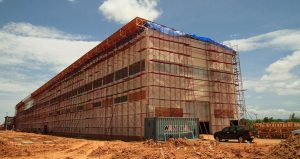 Progress on the Construction of Chaiyaphum High-Voltage Power Station 2 in June-July 2016
