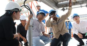 Uni Power Tech together with Delegation Visited Kamphangphet Biomass Power Plant Construction Project