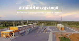 Grand Opening Ceremony of Chaiyaphum High-Voltage Substation