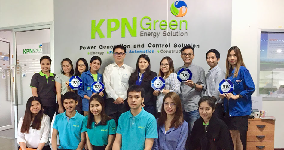 KPN Green had been surveillance the quality management system of ISO 9001: 2015