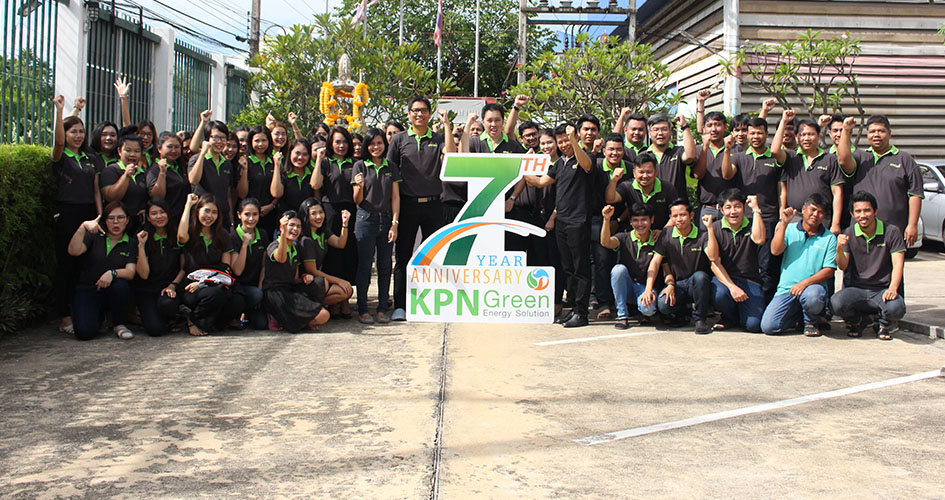 KPN Green Celebrates the 7th Founding Anniversary